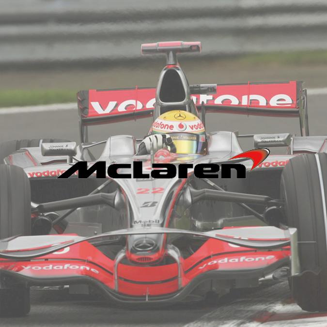 Logo McLaren 2002-2017