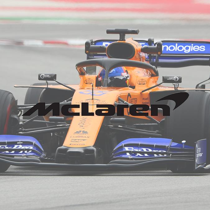 Logo McLaren 2017-2021