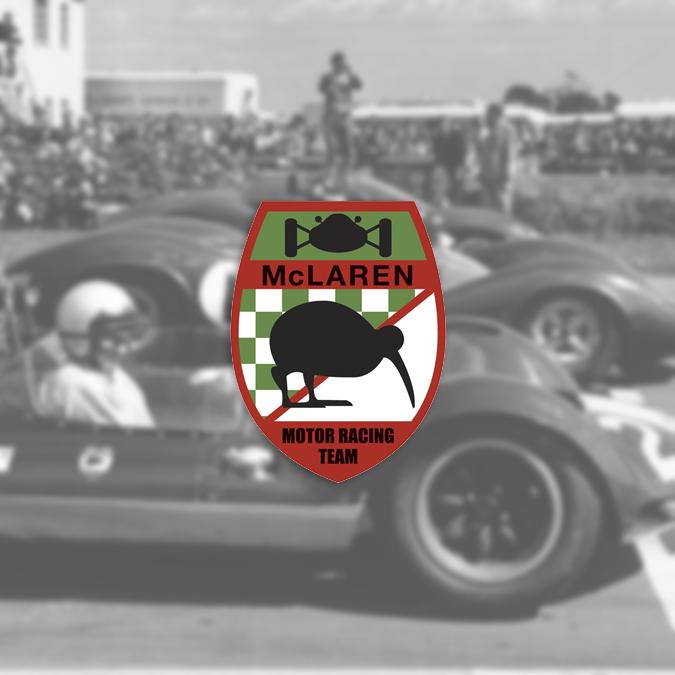 Logo McLaren 1963-1966