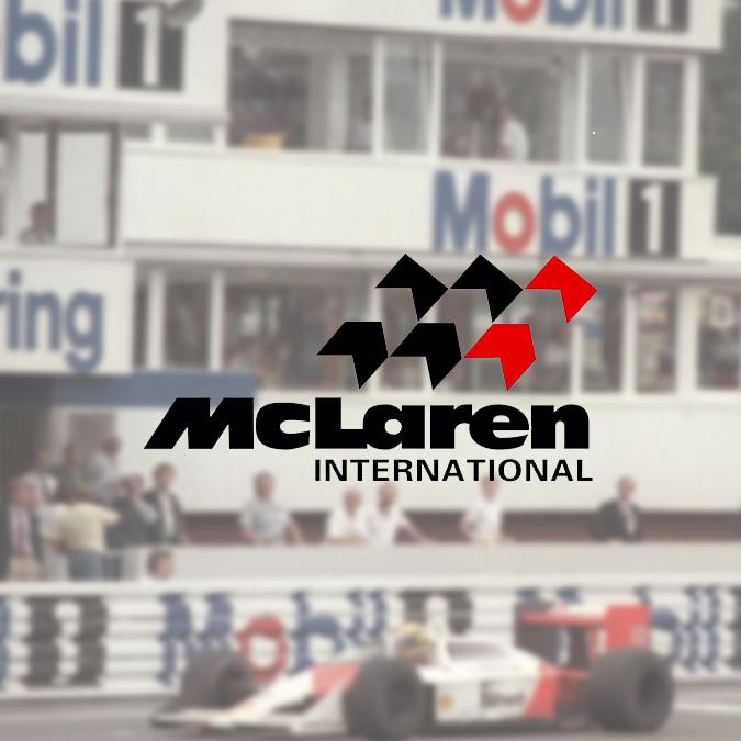 Logo McLaren 1981-1990