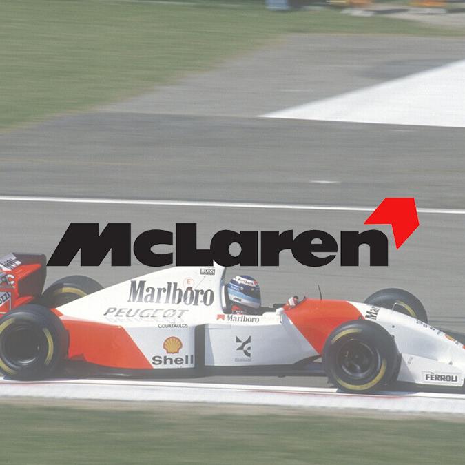 Logo McLaren 1991-1997