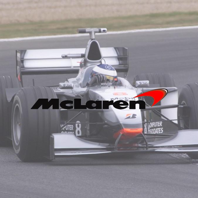 Logo McLaren 1997-2002